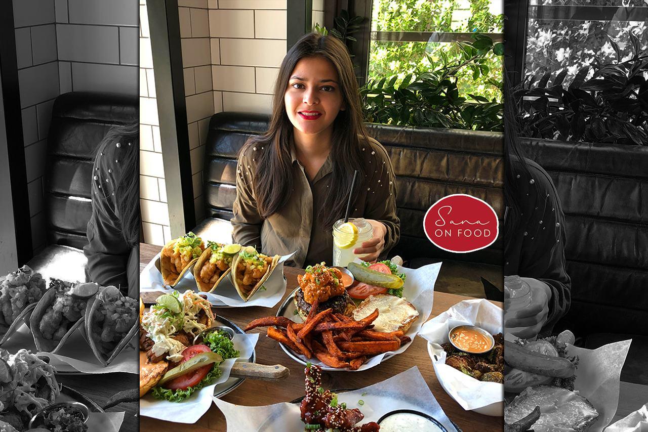 blogger sana on food