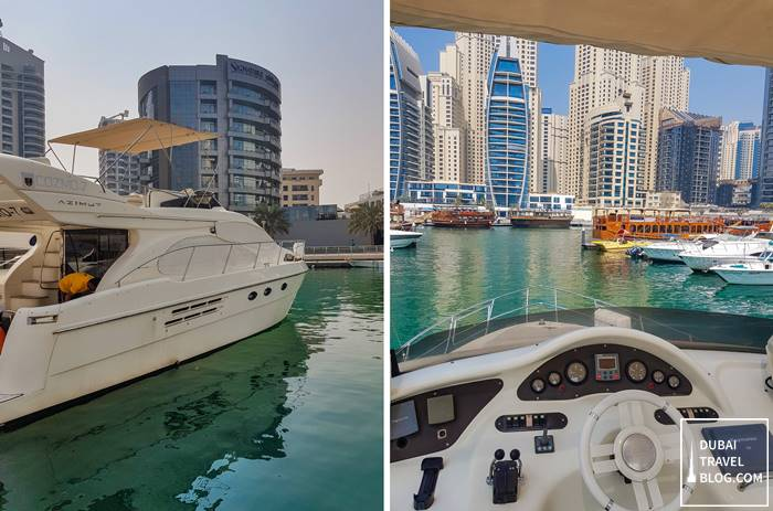 cozmo yachts boat rent private cruise dubai