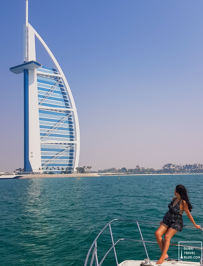 cruise yacht burj al arab view