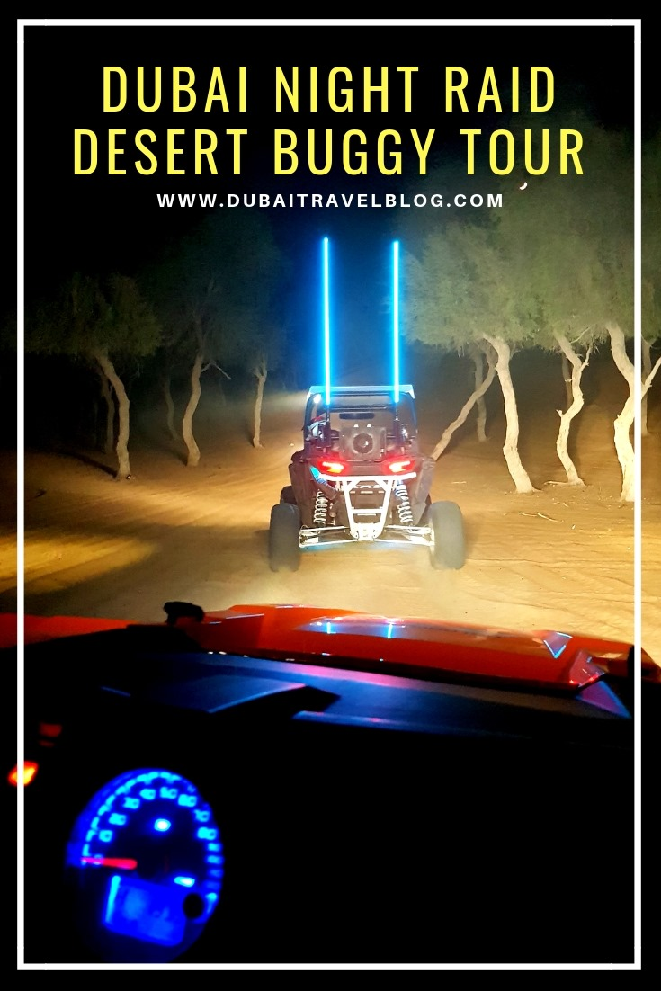 dubai desert buggy tour night