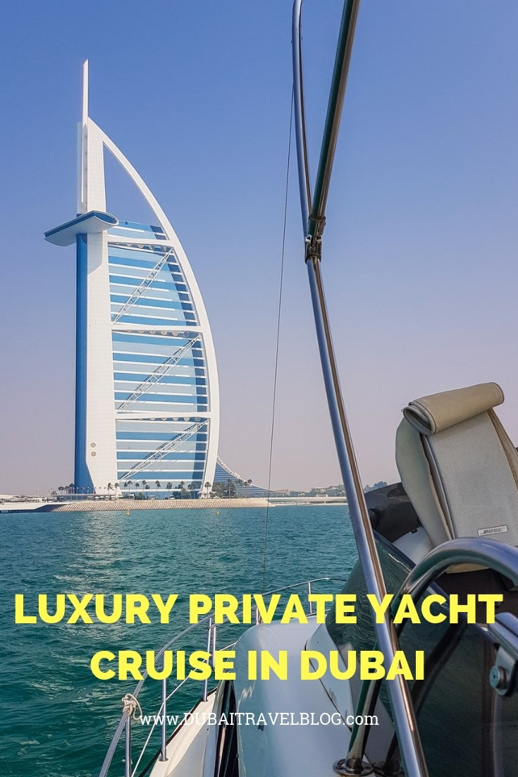 luxury private yacht cruise in dubai experience