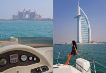 luxury yacht cruise dubai