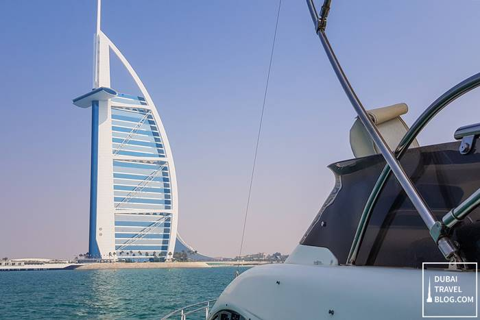 luxury yacht dubai burj al arab cruise