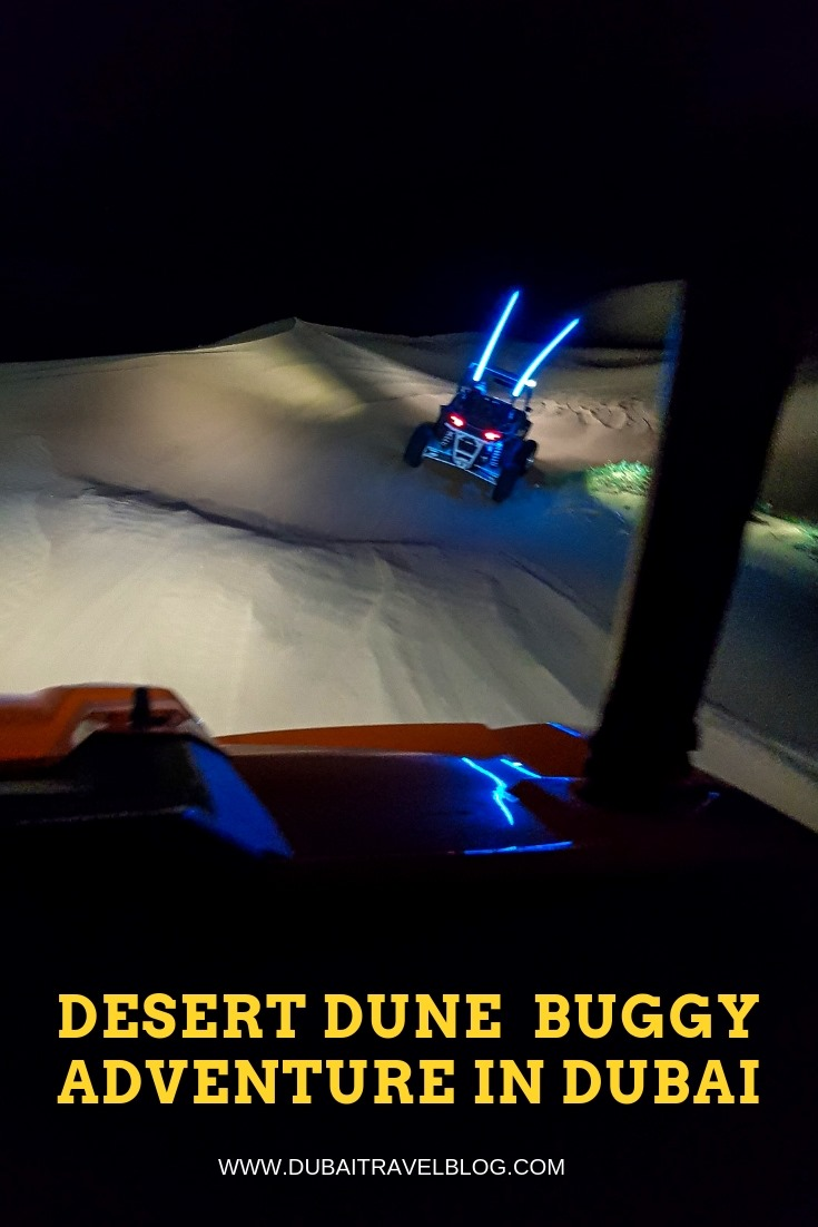 night dune buggy adventure in dubai