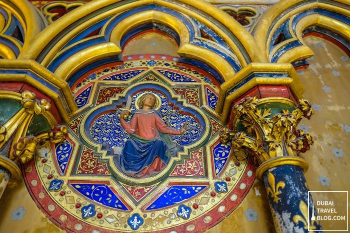 sainte chapelle lower chapel