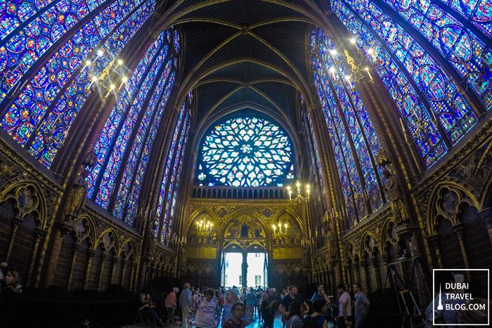 sainte chapelle paris photo