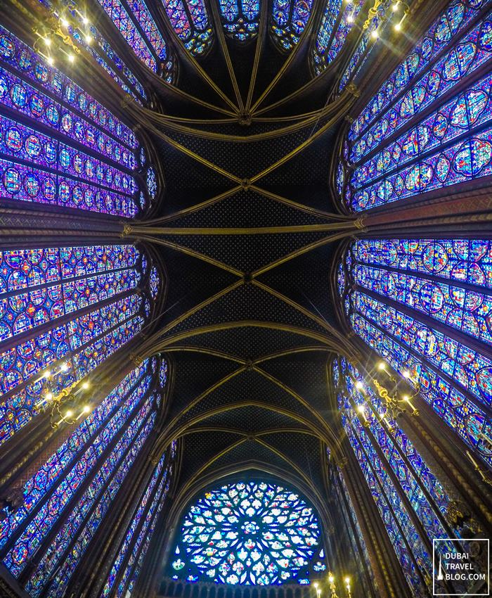 sainte chapelle roof