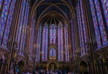 sainte chapelle tour paris photo