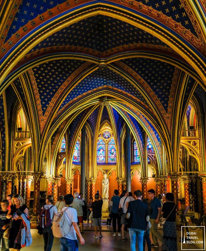 st. chapelle paris france