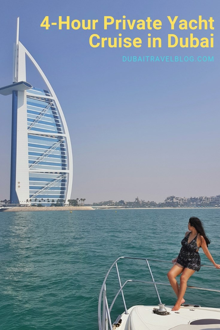 travel blogger dubai yacht cruise
