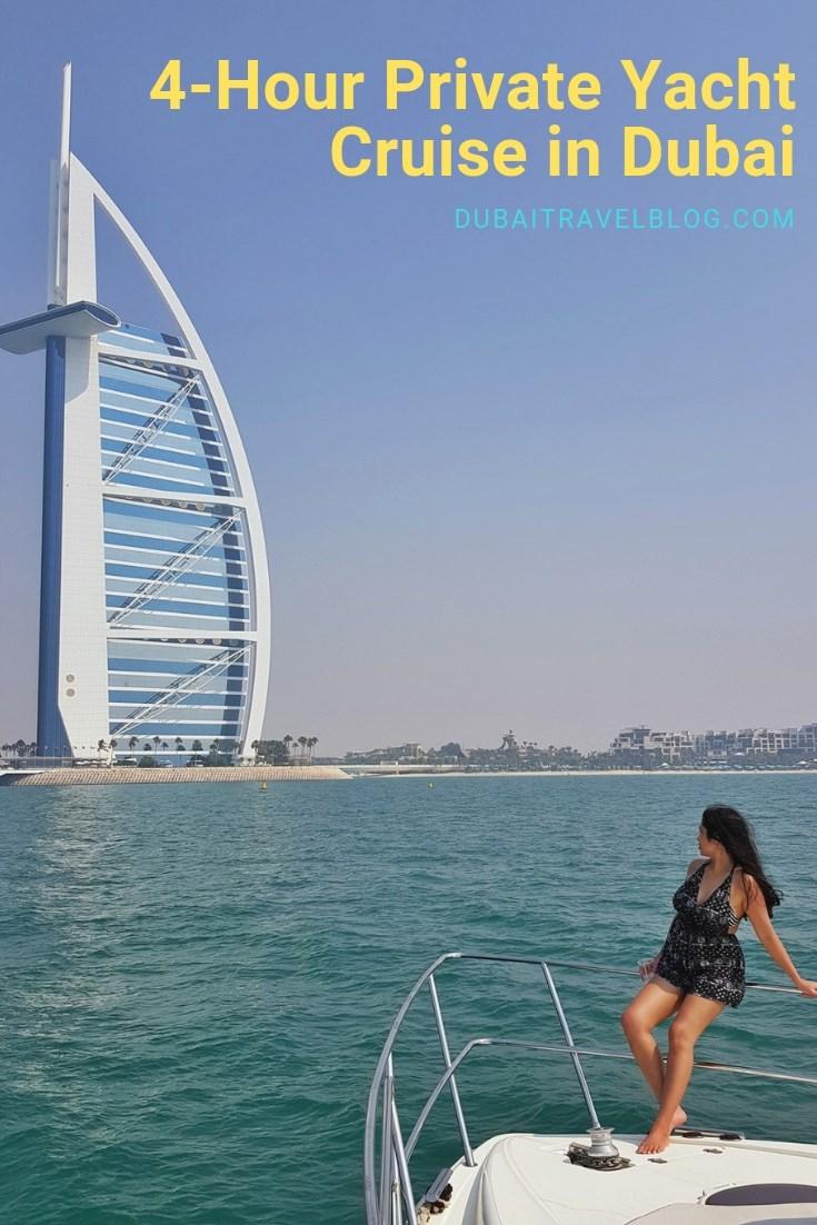 travel blogger dubai yacht cruise