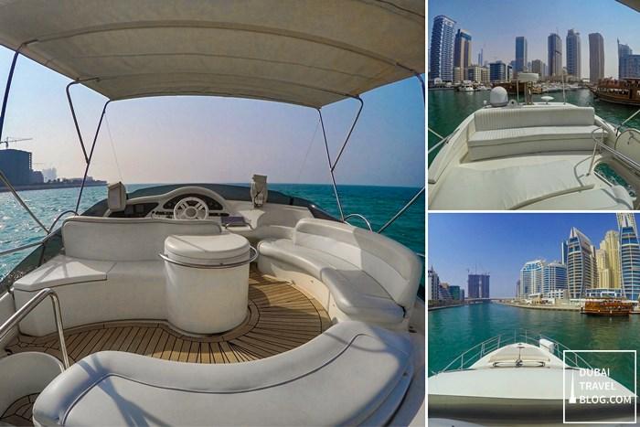 yacht cruise dubai marina luxury