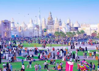 Global Village photo family