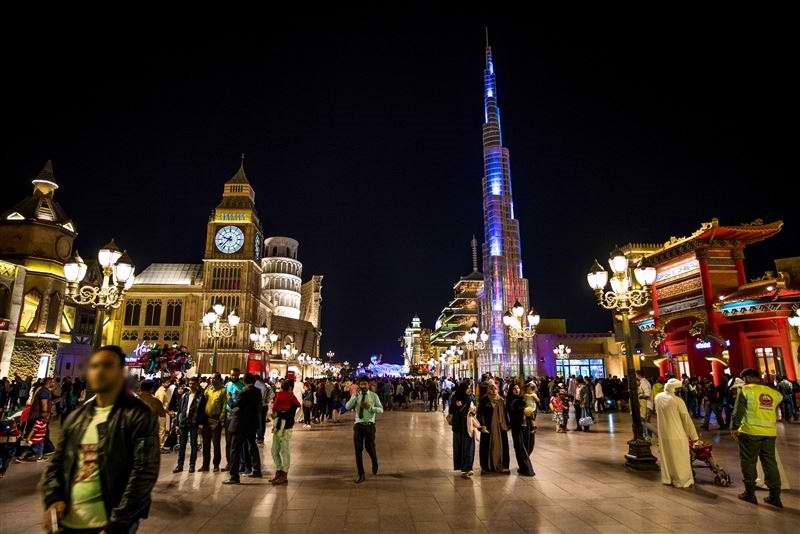 dubai global village uae