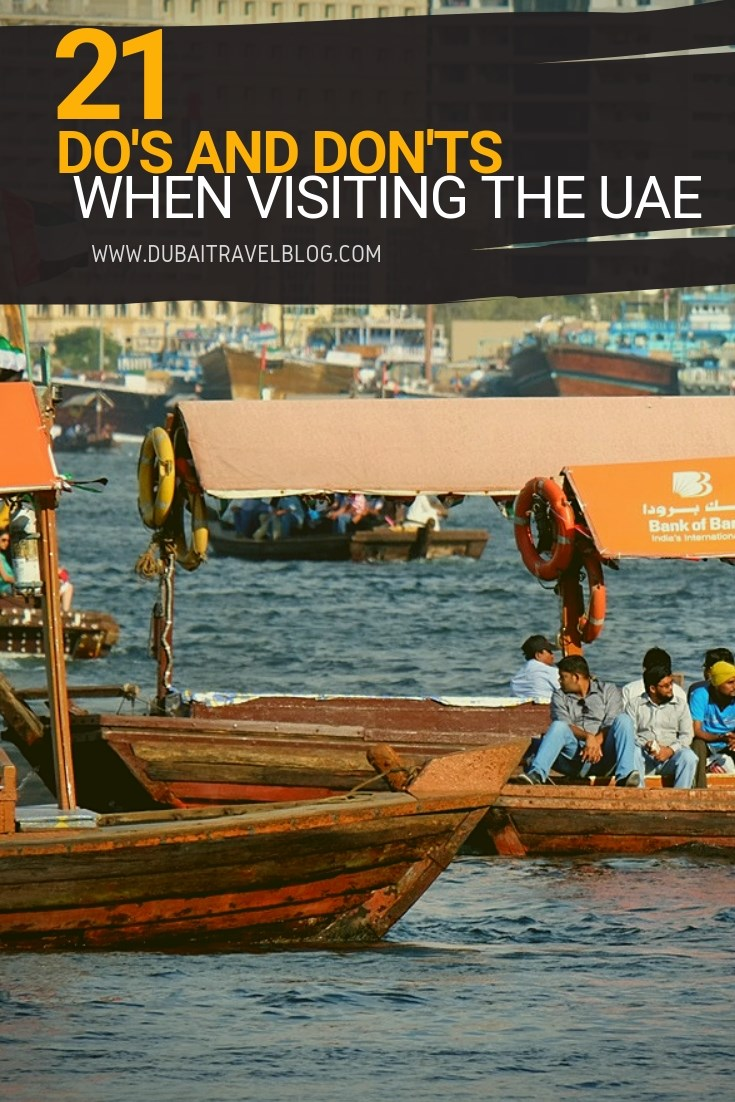 21 uae do's and dont's