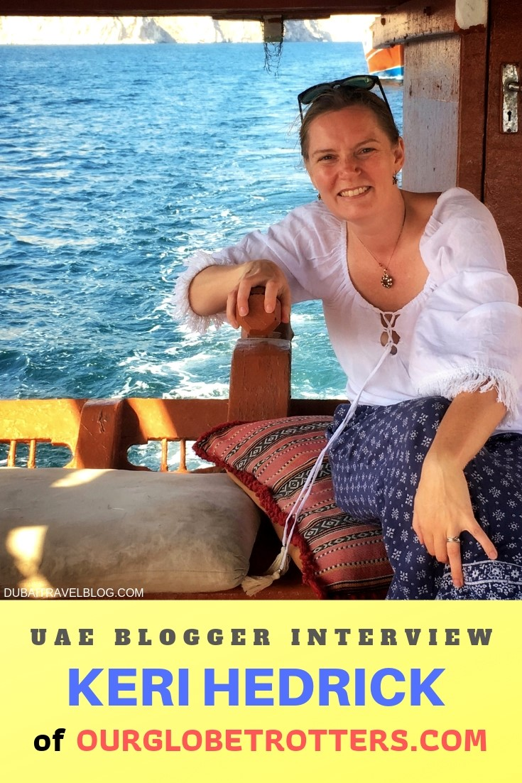 Blogger Interview with Keri of Our Globetrotters