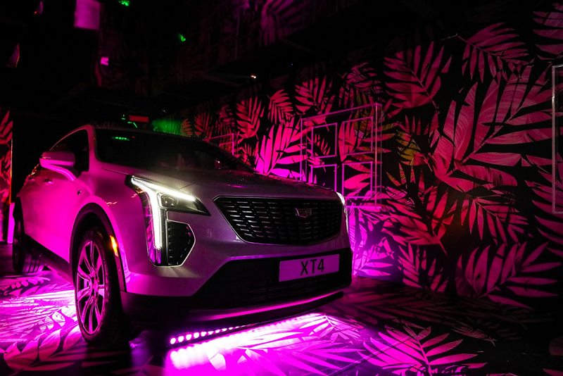 Cadillac XT4 Dubai launch