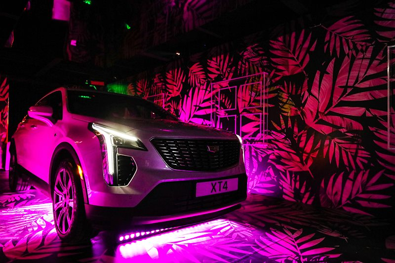 Cadillac XT4 regional launch in the Cadillac HOTEL SoleDXB 2018