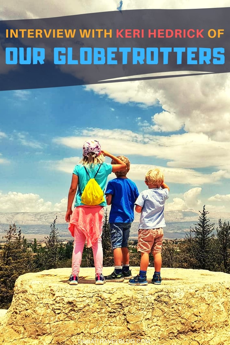 Our Globetrotters blogger interview