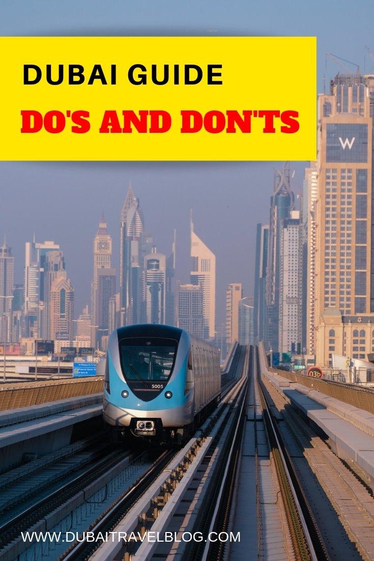 dubai guide uae dos and donts