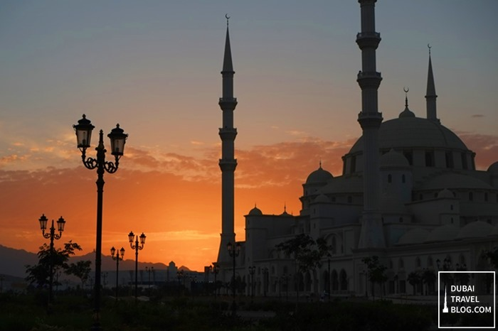 mosque in Fujairah