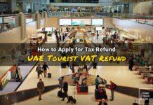 uae tourist vat tax refund