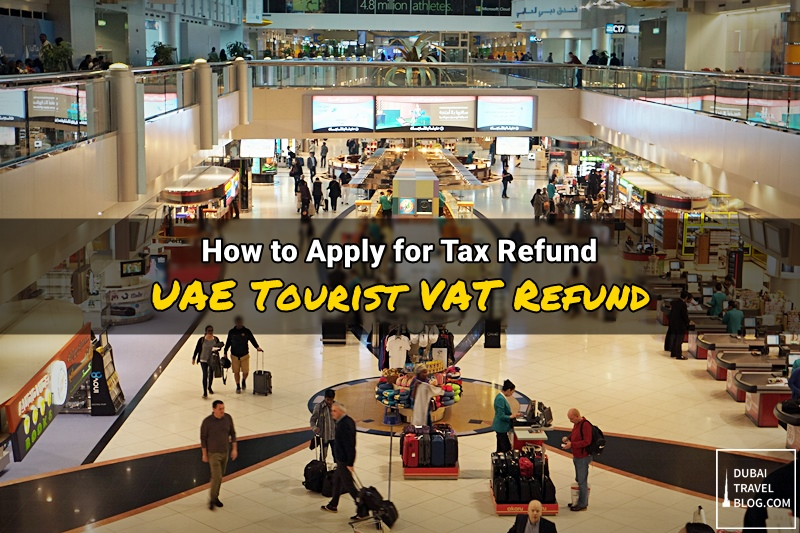 uae tourist vat tax refund