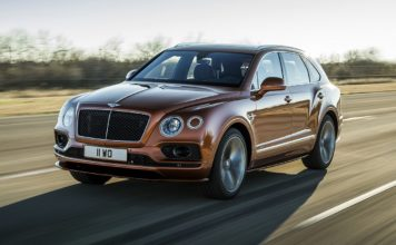 Bentley SUV Bentayga Speed - fastest SUV