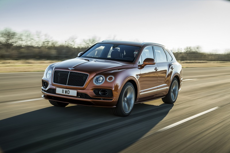 Bentley SUV Bentayga Speed