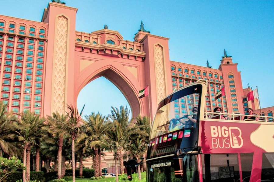 Big Bus Tours Atlantis, The Palm