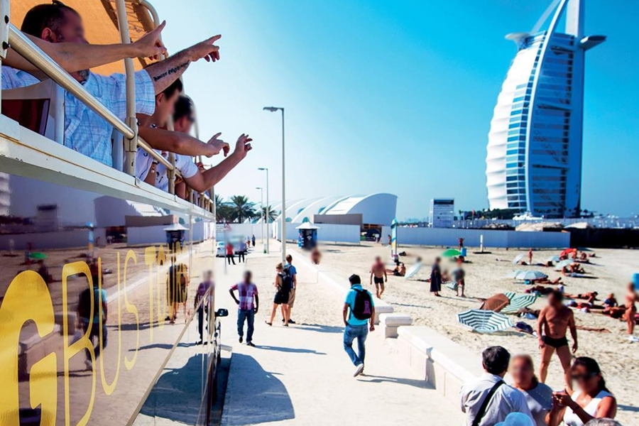 Big Bus Tours Burj Al Arab