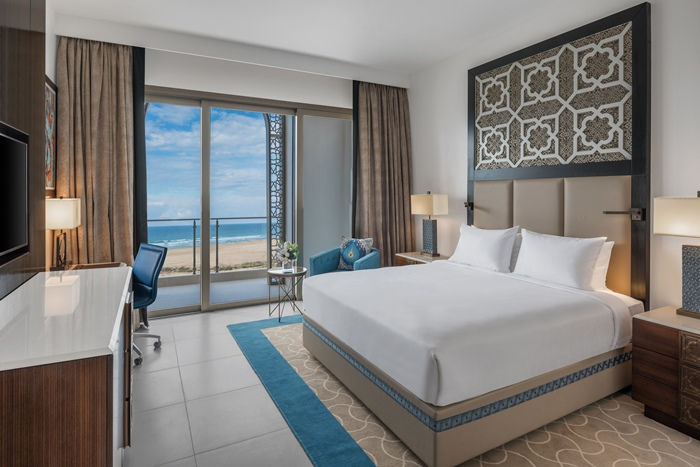 Hilton Tangier Al Houara Resort & Spa Junior Suite - Bedroom