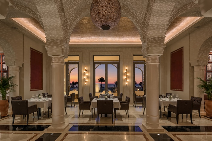 Restaurant L'Olivier Hilton Tangier Al Houara Resort & Spa