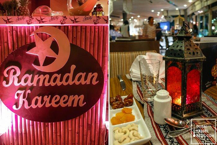 ramadan at pergolas iftar roda al morooj