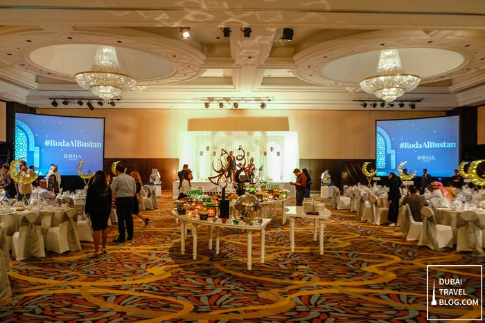 roda al bustan the grand ballroom