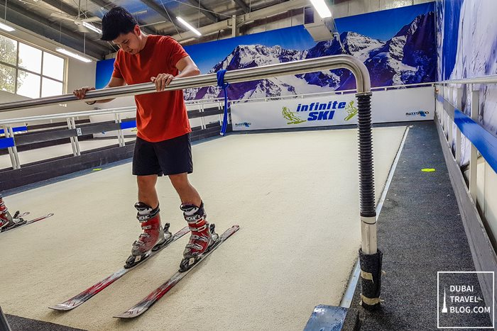 dubai ski training