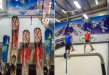 indoor ski at infinite ski