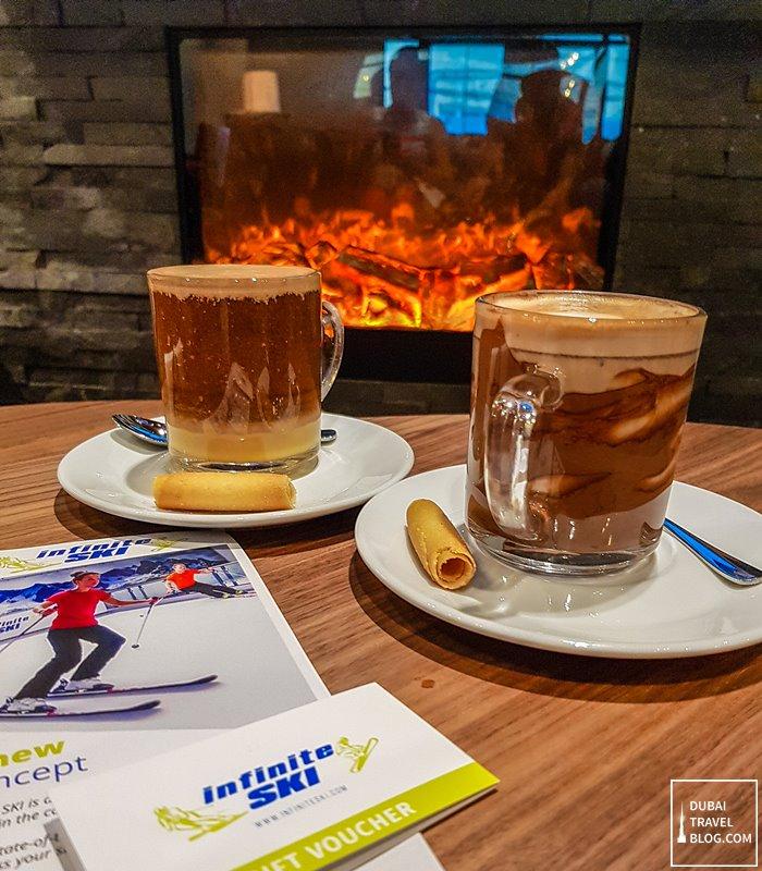 infinite ski cafe