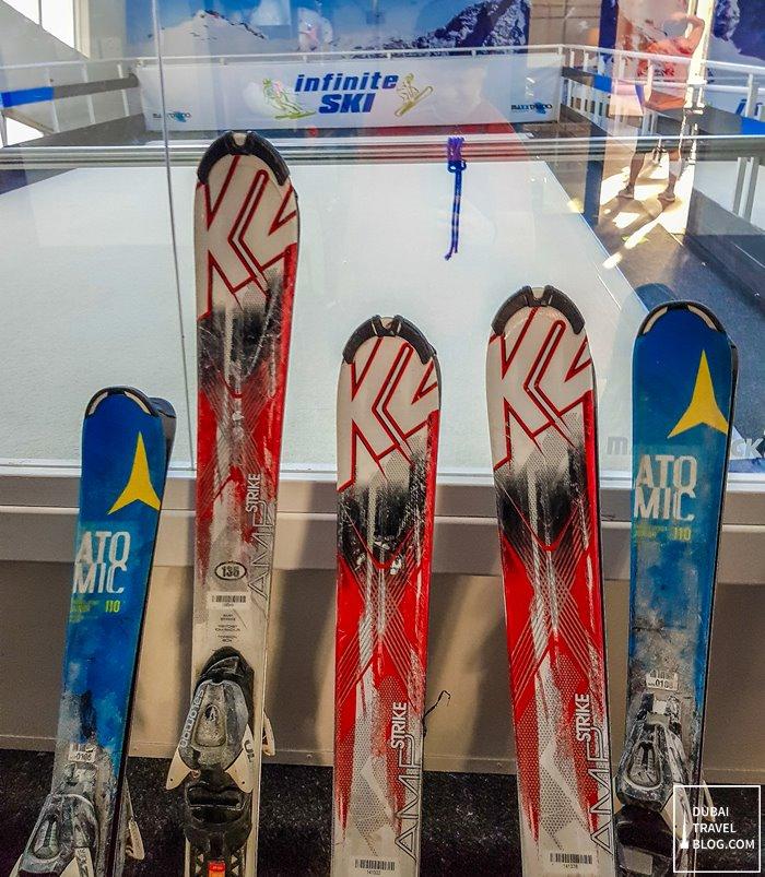 infinite ski slope