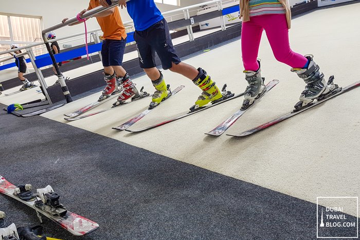 learning to ski in dubai