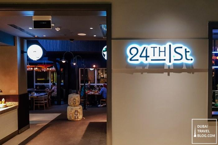 24th st dubai street food