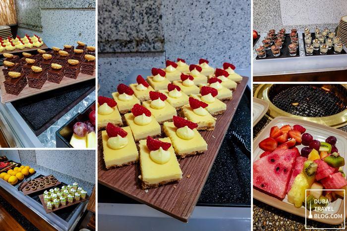 Sumibiya desserts