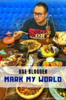 UAE Blogger Interview with Mark My World