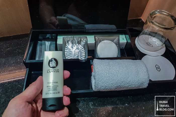 body lotion sofitel abu dhabi