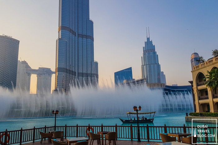 dubai fountain palace downtown