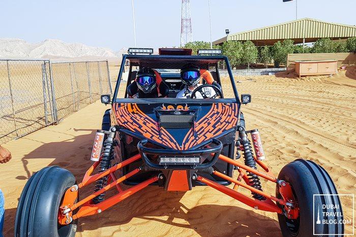 dune buggy desert fox dubai