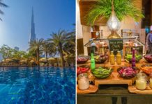 lunch pool at palace downtown dubai