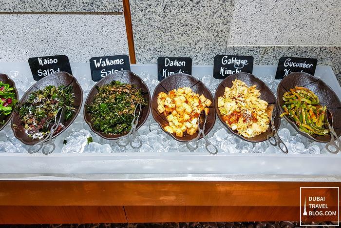 salads sumibiya restaurant