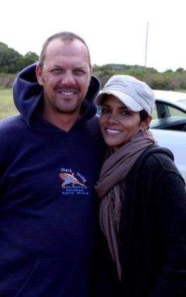 Mike Rutzen and Halle Berry