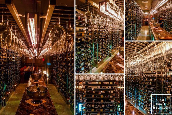Teatro Dubai Restaurant wines